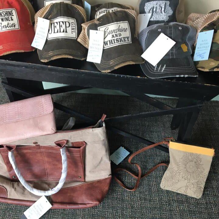 hats bags
